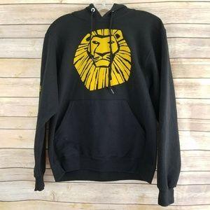 Disney The Lion King Broadway Musical Black Hoodie